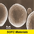 Soild Oxide Fuel Cell Materials
